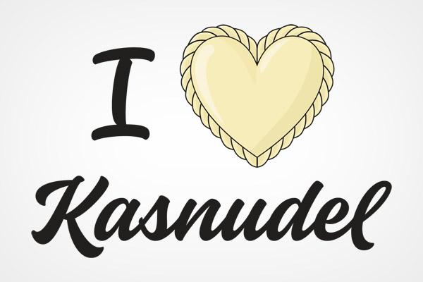 I love Kärntner Kasnudel